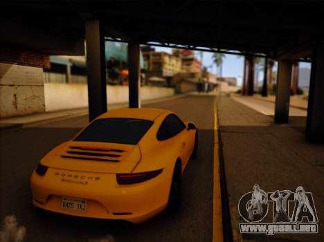 ENB GreenStyle V7.1 para GTA San Andreas tercera pantalla