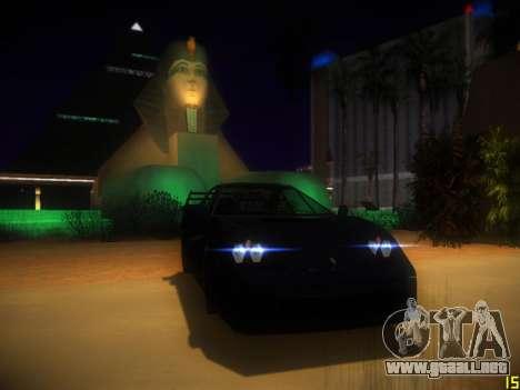 Siguiente ENB V1.0 por medio de la PC para GTA San Andreas segunda pantalla