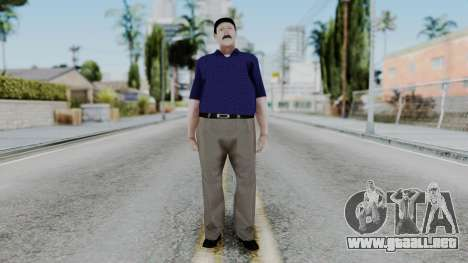 Atendedor de Boludos para GTA San Andreas segunda pantalla