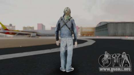 Somalia Militia Woodland Camo para GTA San Andreas tercera pantalla
