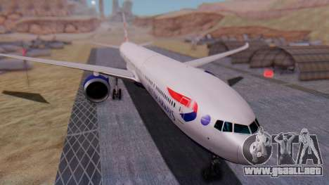 Boeing 777-9x British Airways para GTA San Andreas