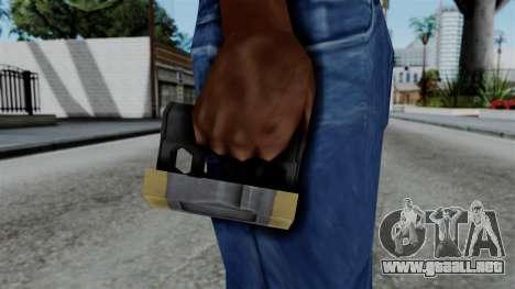CoD Black Ops 2 - Galvaknuckles para GTA San Andreas tercera pantalla