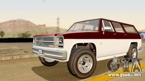 GTA 5 Declasse Rancher XL IVF para GTA San Andreas