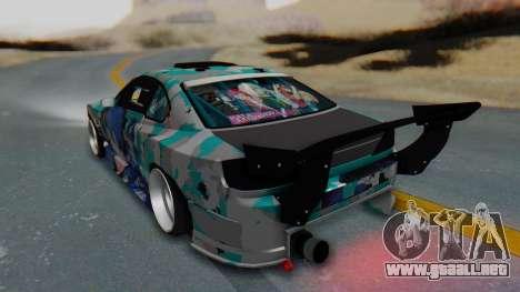 Nissan Silvia s15 Itasha [EDE-Crew] para GTA San Andreas left