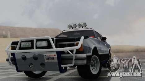 Virgo v1.0 para GTA San Andreas vista posterior izquierda