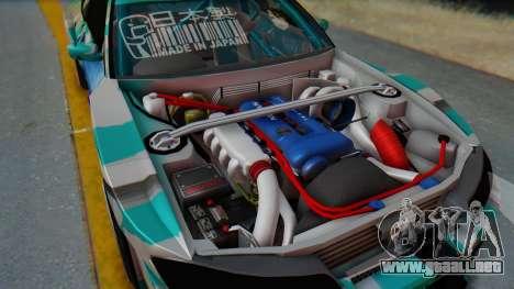 Nissan Silvia s15 Itasha [EDE-Crew] para la visión correcta GTA San Andreas