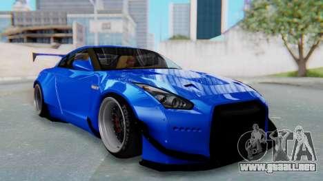 Nissan GT-R R35 Rocket Bunny para GTA San Andreas