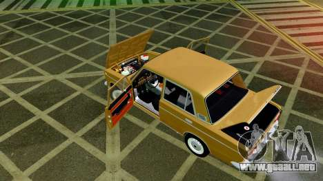 VAZ 2103 para la vista superior GTA San Andreas