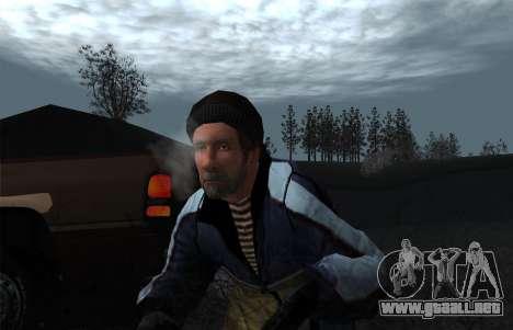 El vapor de la boca para GTA San Andreas segunda pantalla