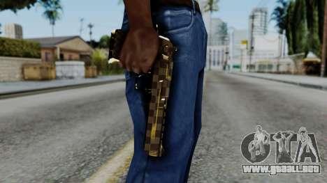 Deagle Louis Vuitton Version para GTA San Andreas tercera pantalla