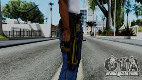 CoD Black Ops 2 - PDW-57 para GTA San Andreas tercera pantalla