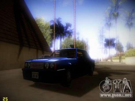 Siguiente ENB V1.4 para PC de bajo para GTA San Andreas segunda pantalla