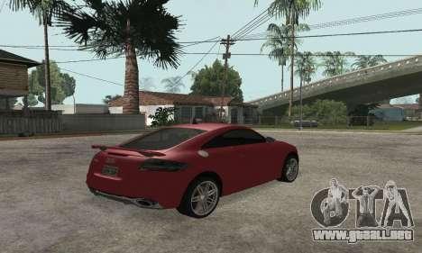 Audi TT-RS Tunable para GTA San Andreas left