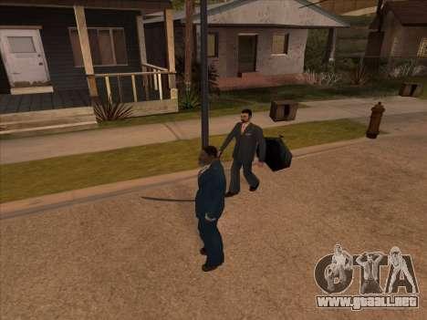 La mafia rusa en Ganton para GTA San Andreas quinta pantalla