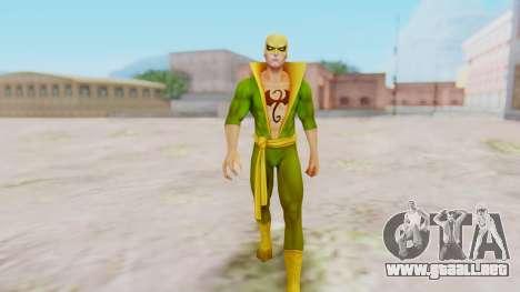 Marvel Future Fight - Iron Fist para GTA San Andreas segunda pantalla