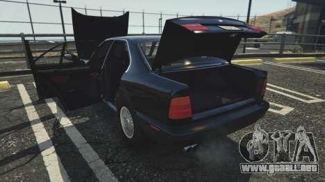BMW 535i E34 para GTA 5