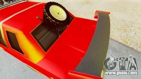 Virgo v2.0 para GTA San Andreas vista posterior izquierda