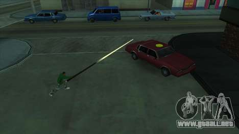 Cleo Mod San Andreas para GTA San Andreas segunda pantalla