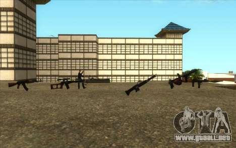 La Visita De Wu Zi Mu para GTA San Andreas sucesivamente de pantalla