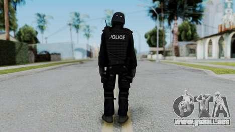 Regular SWAT para GTA San Andreas tercera pantalla