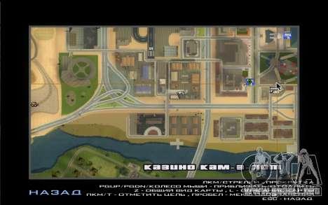 La Visita De Wu Zi Mu para GTA San Andreas quinta pantalla