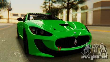 Maserati Gran Turismo Tron para la visión correcta GTA San Andreas