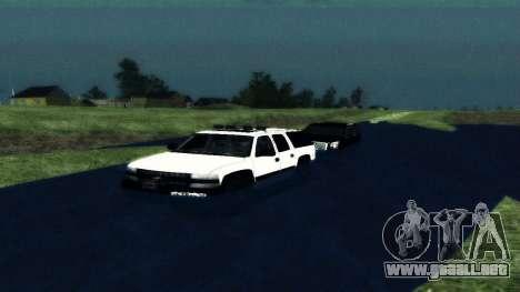 Chevrolet Suburban Offroad Final Version para la visión correcta GTA San Andreas