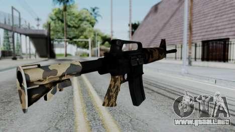 M16 A2 Carbine M727 v2 para GTA San Andreas segunda pantalla