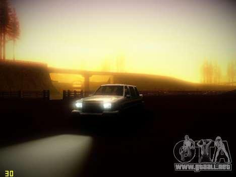 Siguiente ENB V1.4 para PC de bajo para GTA San Andreas tercera pantalla