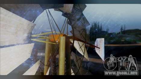 Raveheart 248F para GTA San Andreas segunda pantalla