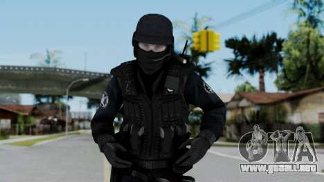 Regular SWAT para GTA San Andreas