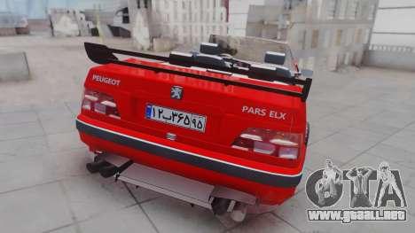 Peugeot Pars Spayder Sport para GTA San Andreas left