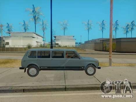 ВАЗ 2131 7-puerta [HQ Version] para la visión correcta GTA San Andreas