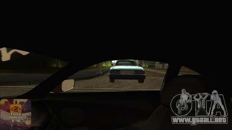La primera persona a la v3.0 para GTA San Andreas sexta pantalla