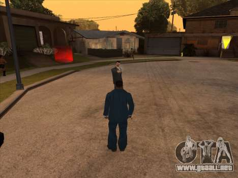 La mafia rusa en Ganton para GTA San Andreas sucesivamente de pantalla