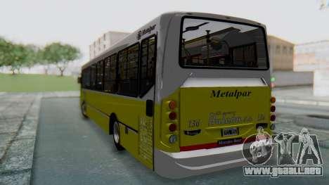 Mercedes-Benz 1718L-SB Linea 148 para GTA San Andreas vista posterior izquierda