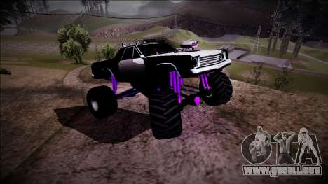 Picador Monster Truck para la vista superior GTA San Andreas