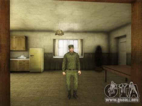 El Ordinario Ejército Moderno De Rusia para GTA San Andreas