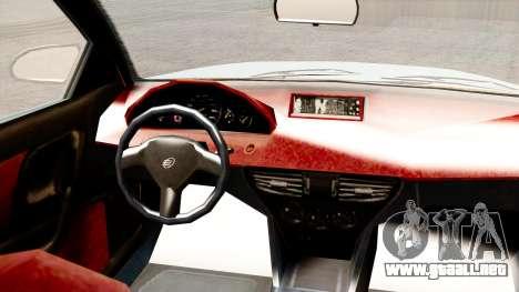 GTA 5 Enus Cognoscenti 55 para GTA San Andreas vista posterior izquierda