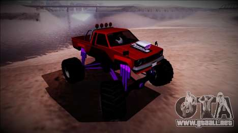 GTA 5 Karin Rebel Monster Truck para vista lateral GTA San Andreas