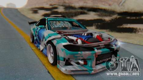 Nissan Silvia s15 Itasha [EDE-Crew] para GTA San Andreas