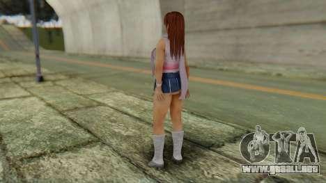 Kasumi Scarf para GTA San Andreas tercera pantalla