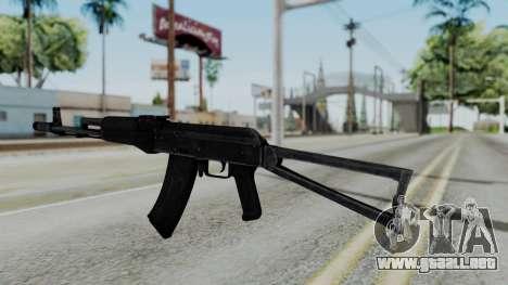 AKS-47 para GTA San Andreas segunda pantalla