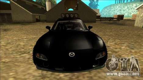 Mazda RX-7 Rusty Rebel para la vista superior GTA San Andreas