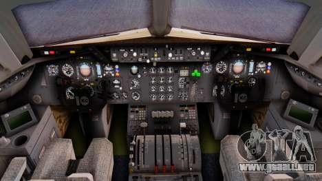 McDonnell-Douglas DC-10-30 Saudia para GTA San Andreas vista posterior izquierda