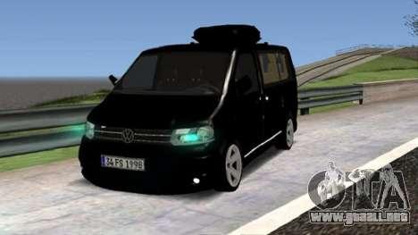 Volkswagen bus By.Snebes para GTA San Andreas