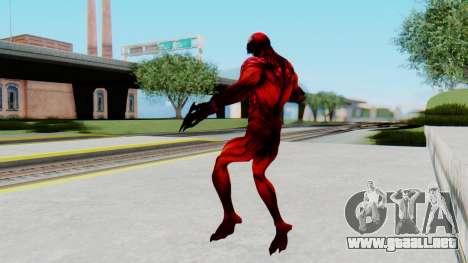 The Amazing Spider-Man 2 Game - Carnage para GTA San Andreas tercera pantalla