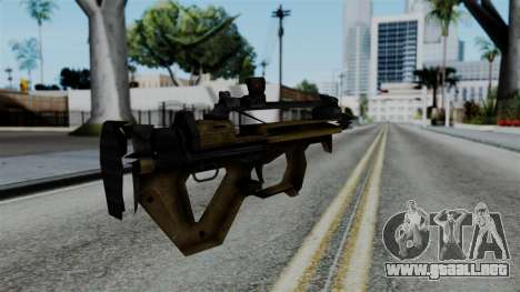 CoD Black Ops 2 - PDW-57 para GTA San Andreas segunda pantalla
