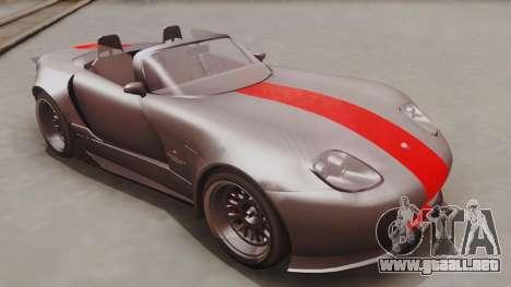 GTA 5 Bravado Banshee 900R Carbon IVF para la visión correcta GTA San Andreas