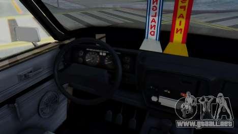 Peykan 80 Spyder para visión interna GTA San Andreas